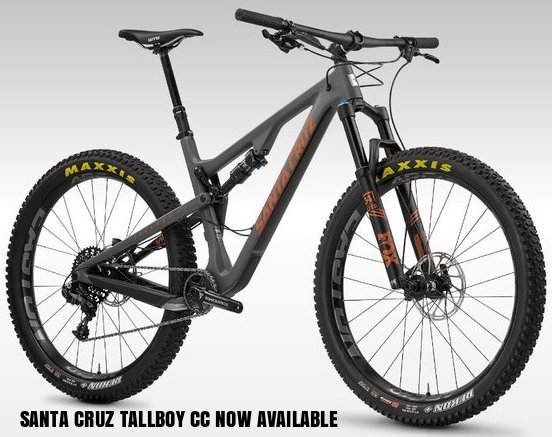 The Santa Cruz Tallboy CC made a truly epic appearance into the world with the  launch video featuring none other than South African mountain biking legend d201ccb66bab2