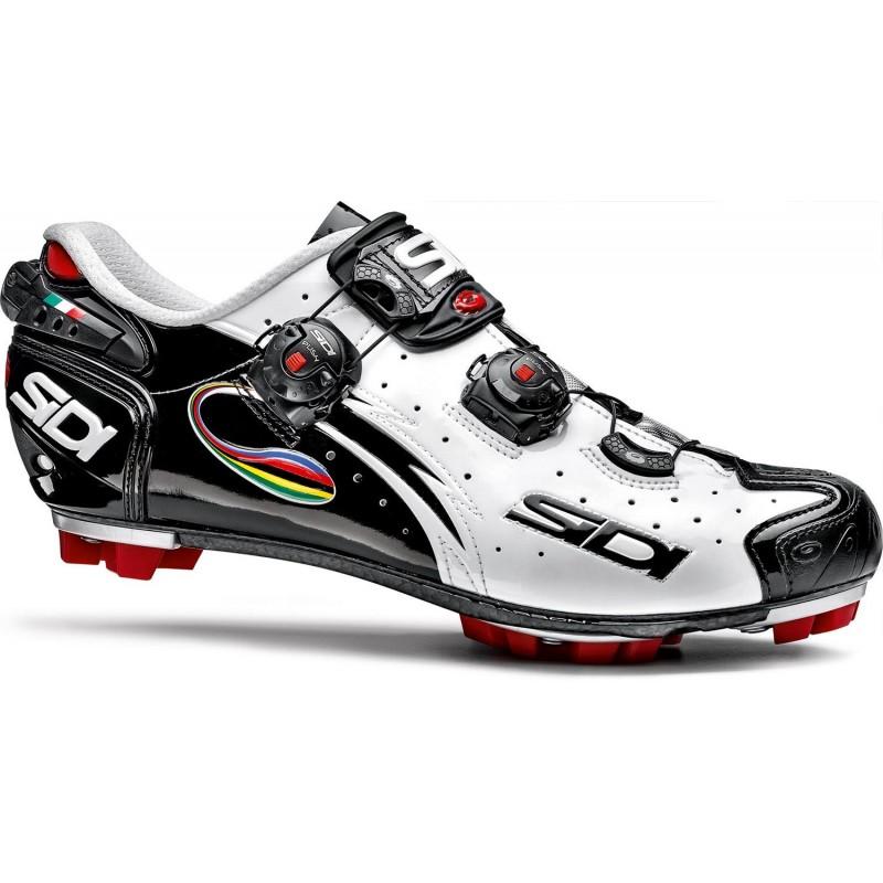 e5c5e34a8c4 Sidi Drako Carbon MTB Shoe White Black Iride -