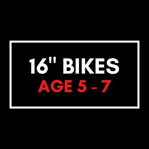 """16"""" Kids Bikes"""