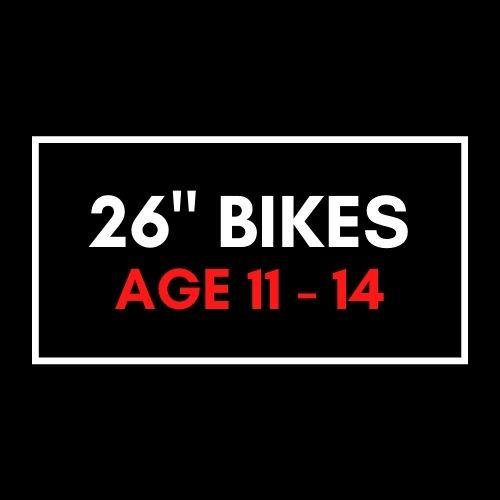 """26"""" Kids Bikes"""
